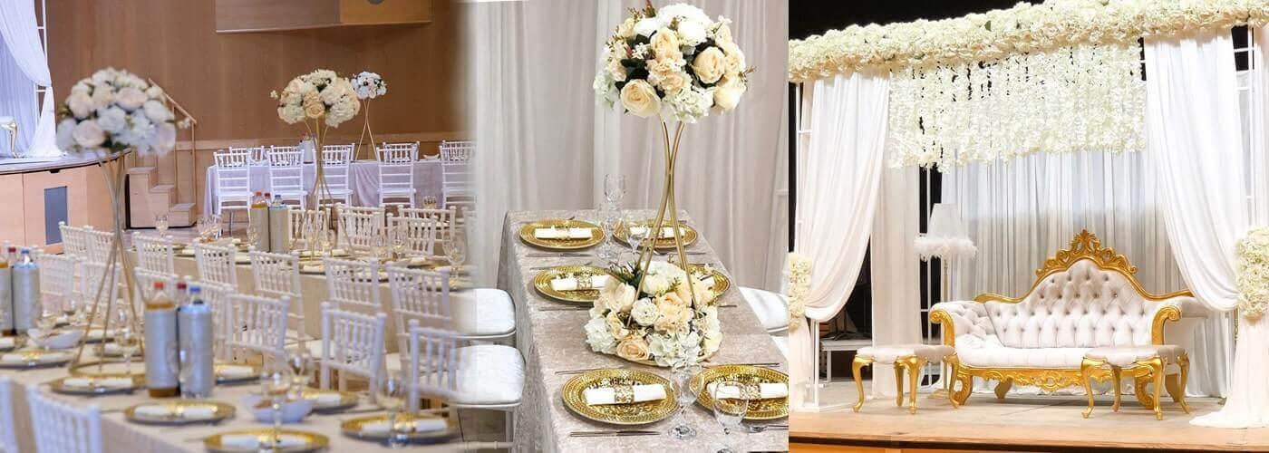 Düğün Şamdan ve Gazebo