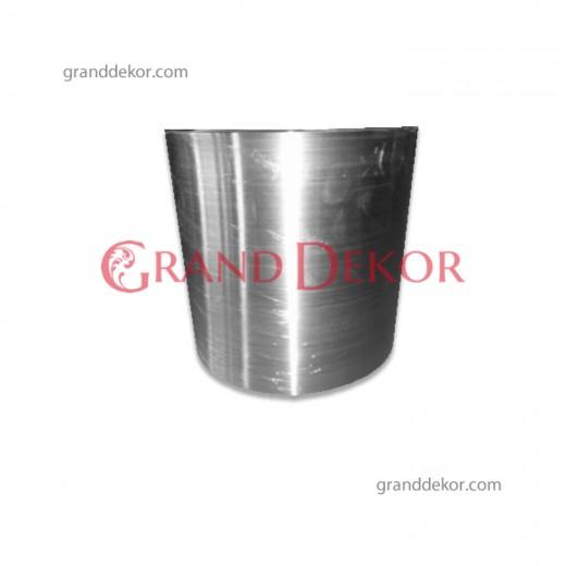 Gümüş Metal Saksı 30 CM