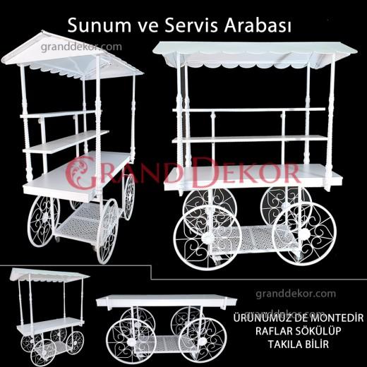 Kubbeli Candybar - Sunum & Servis Arabası