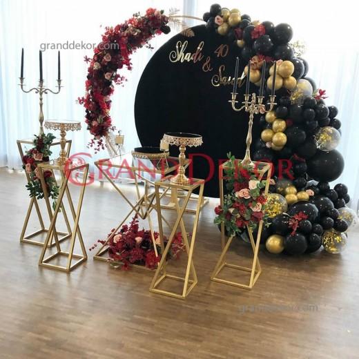 Piramit Set Nişan Organizasyonu Masası söz nişan düğün Masası