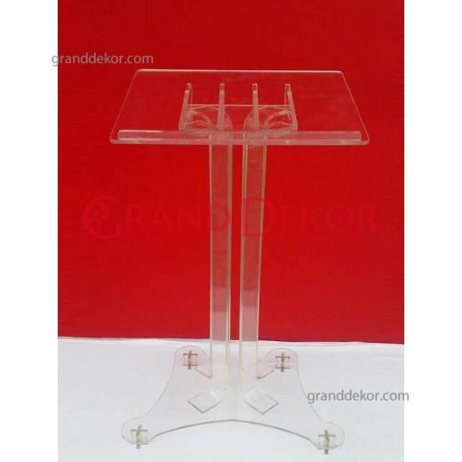 Pleksiglas Anı Masası