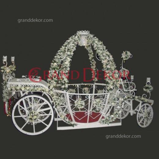 Balkabağı Düğün Arabası