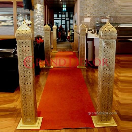 Grand Dekor . Gelin Yolu imalatı . Giriş Kemerleri Arkafon ,  isteğe özel tasarım ve imalat