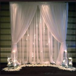 Düğün Nişan Masası Arka Fon Metal