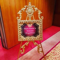 Karşılama Panosu Düğün ve Kına