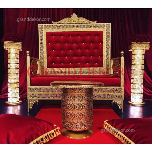 Osmanlı Kına Tahtı  Kırmızı