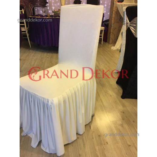 Beyaz Sandalye Giydirme 2