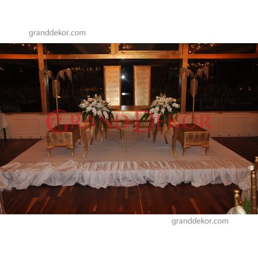 Deri Varaklı Nikah Masası