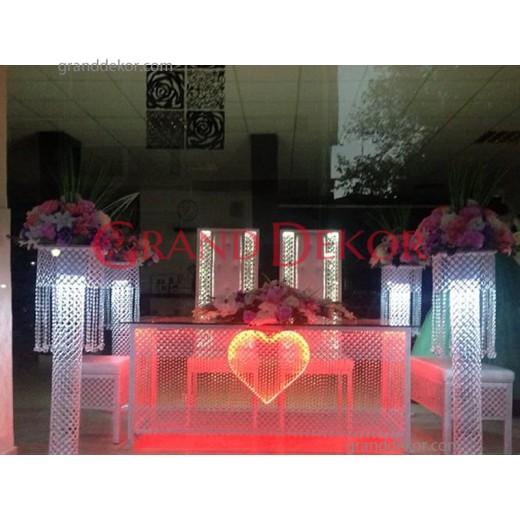 Kalpli Ferforje Nikah Masası