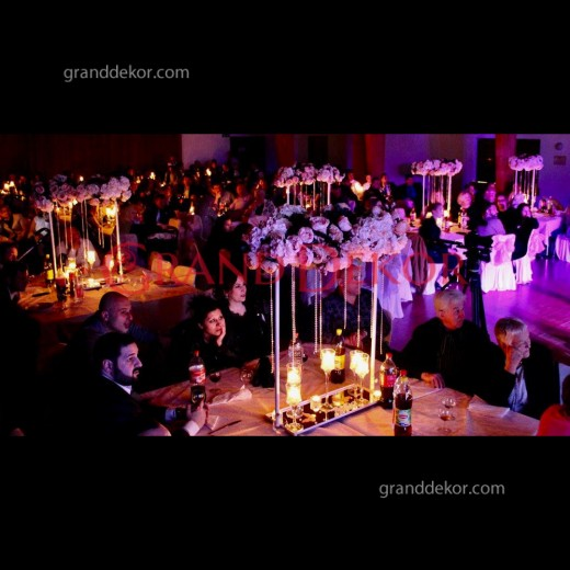 Kafiye Düğün Şamdanı
