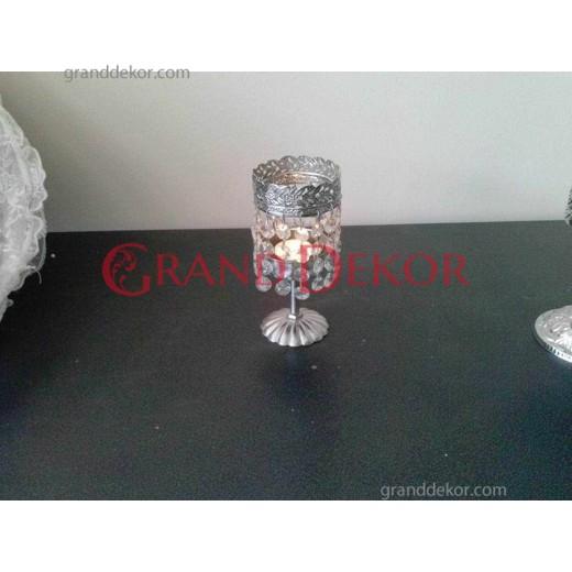 Mumluk Kristal Taşlı Mini