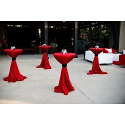 Kokteyl Masa Örtüsü Kırmızı