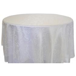 Masa Örtüsü Beyaz Dantel Kapak