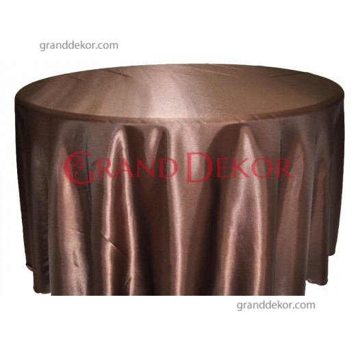 Saten Masa Örtüsü Çikolata