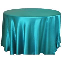 Saten Masa Örtüsü Yeşil Jade