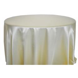 Saten Masa Örtüsü Kanarya Sarısı