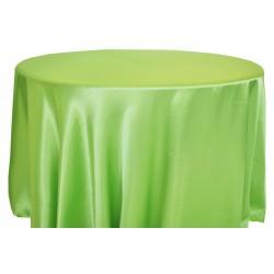 Saten Masa Örtüsü Yeşil