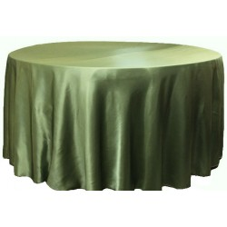 Saten Masa Örtüsü Yonca Yeşil